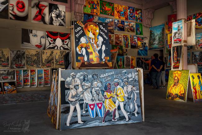 """Galerie in den Straßen-Weiten im Umfeld von unserem 2. Hotel """"Deauville"""""""