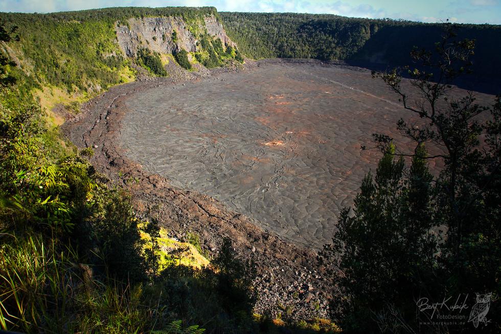 Kīlauea Iki Crater Trailhead auf Big Island