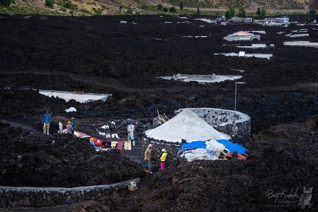 Im 2. Lava-Dorf Bangaeira