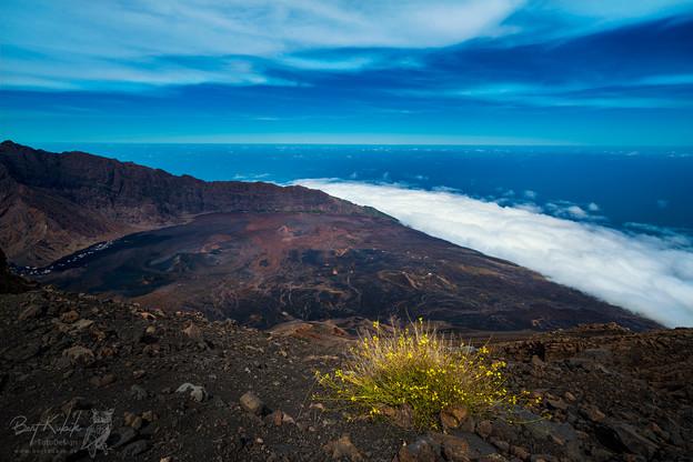 Auf dem Gipfel vom Pico Fogo