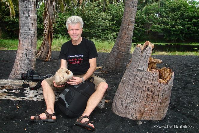 Ich habe die Kokosnuss geklaut ...