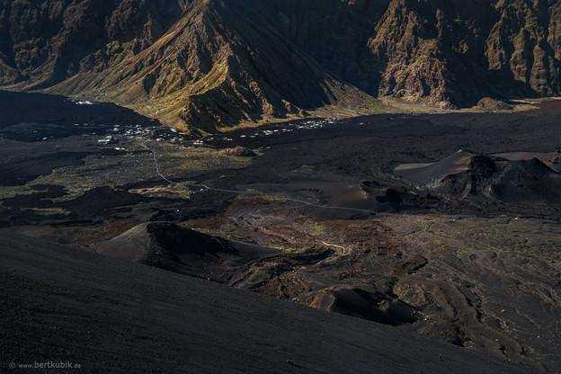 Blick vom Pico auf Portela und Bangaeira