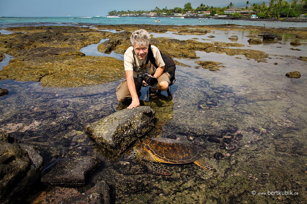 Die 1. Begegnung mit Turtles