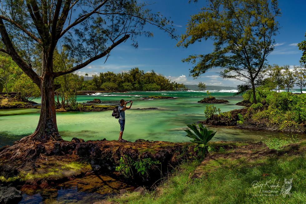 """Fotografieren im Paradies"" - Beach-Parks bei Hilo"