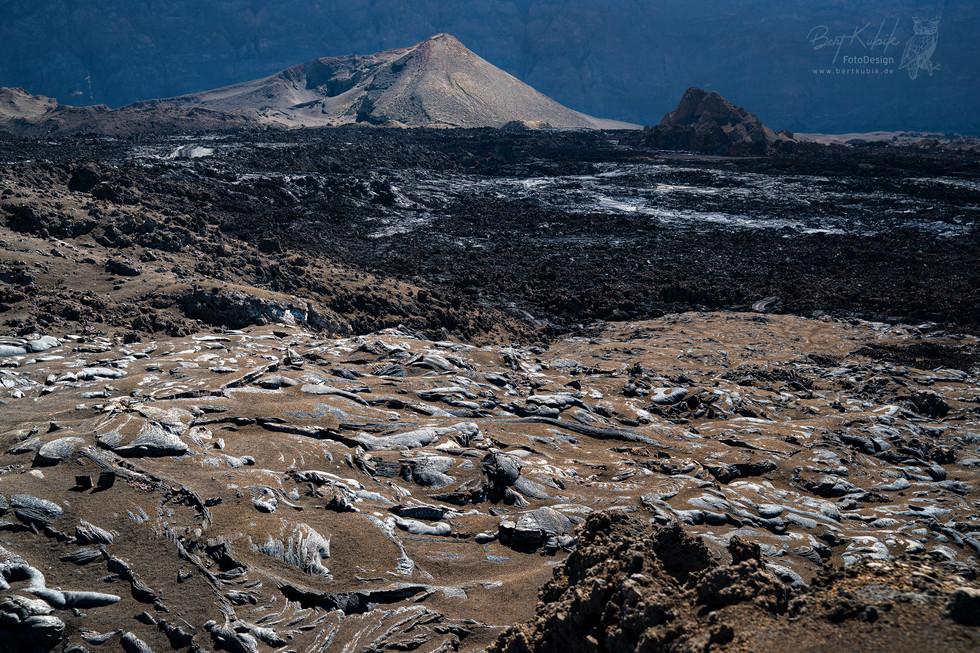 Die Weiten der Lava-Felder