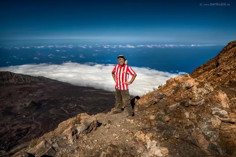 Das 1. Mal auf dem Gipfel des Pico Fogo