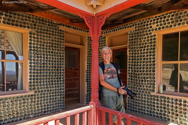 Tom Kelly Bottle House in Death Valley