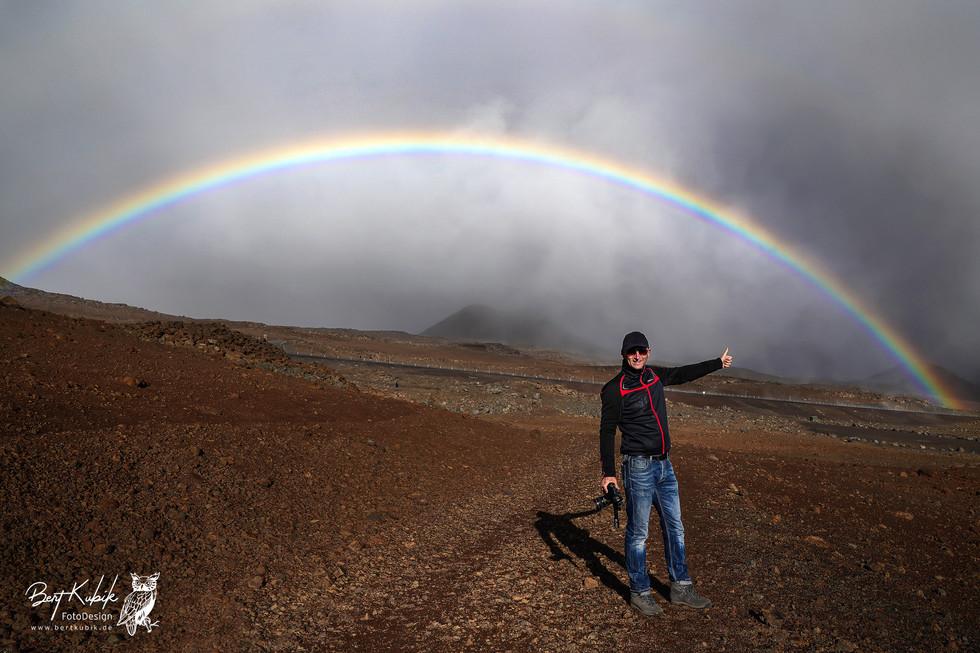 Auf dem Wege zum Mauna Kea Gipfel