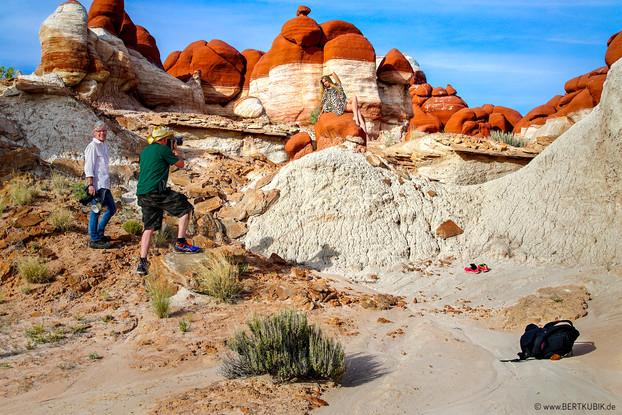 Blue Canyon im Navajo County in Arizona