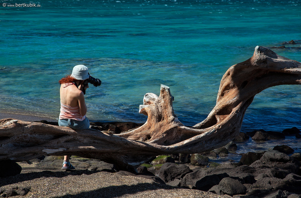 Foto-Relaxen am Pazifik