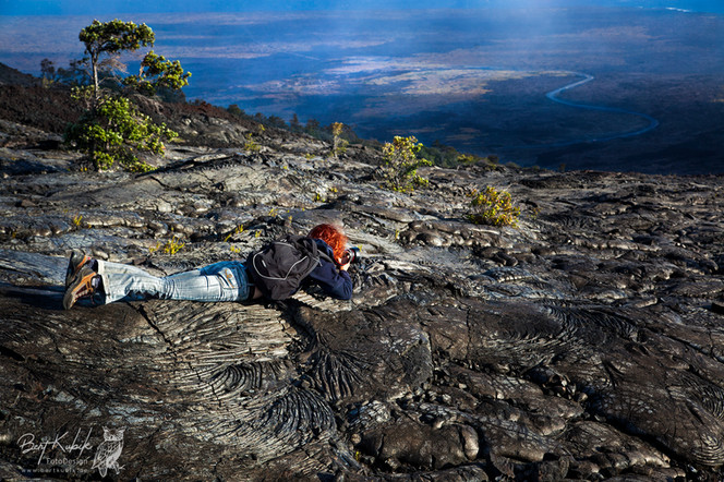 Pole-Position im Volcano National Park