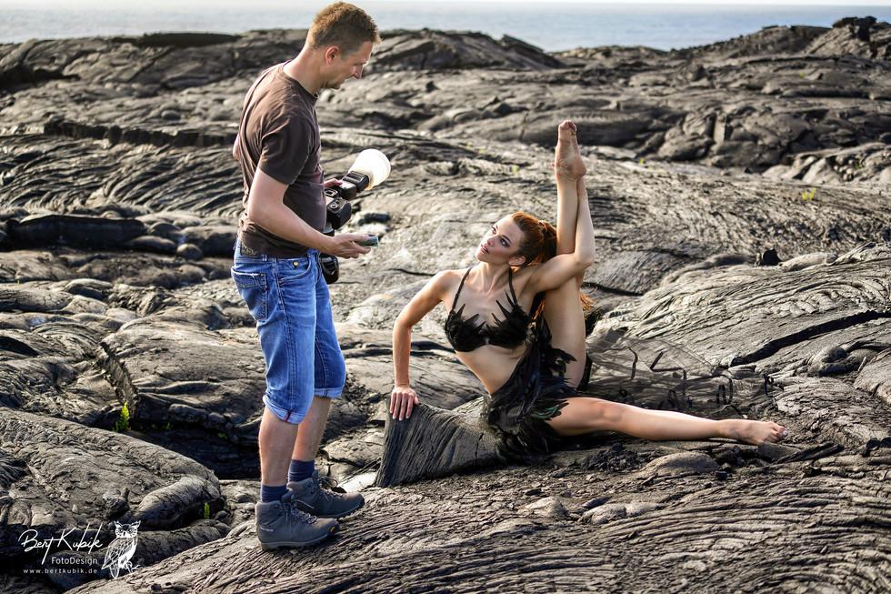 Shooting-Absprachen in den Lava-Feldern