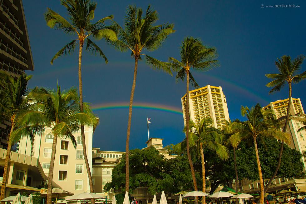 Waikiki Beach auf Oahu