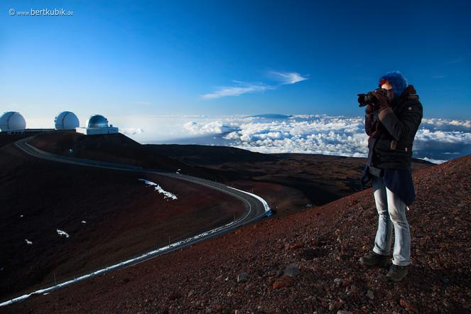 Gipfel-Foto auf dem Mauna Kea