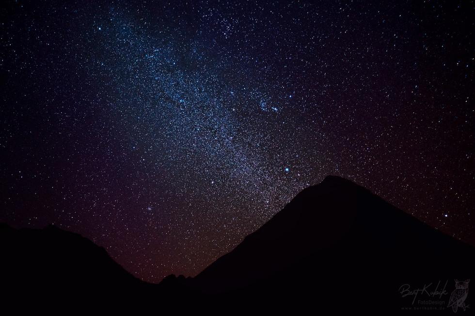 Sternen-Himmel über dem Pico Fogo