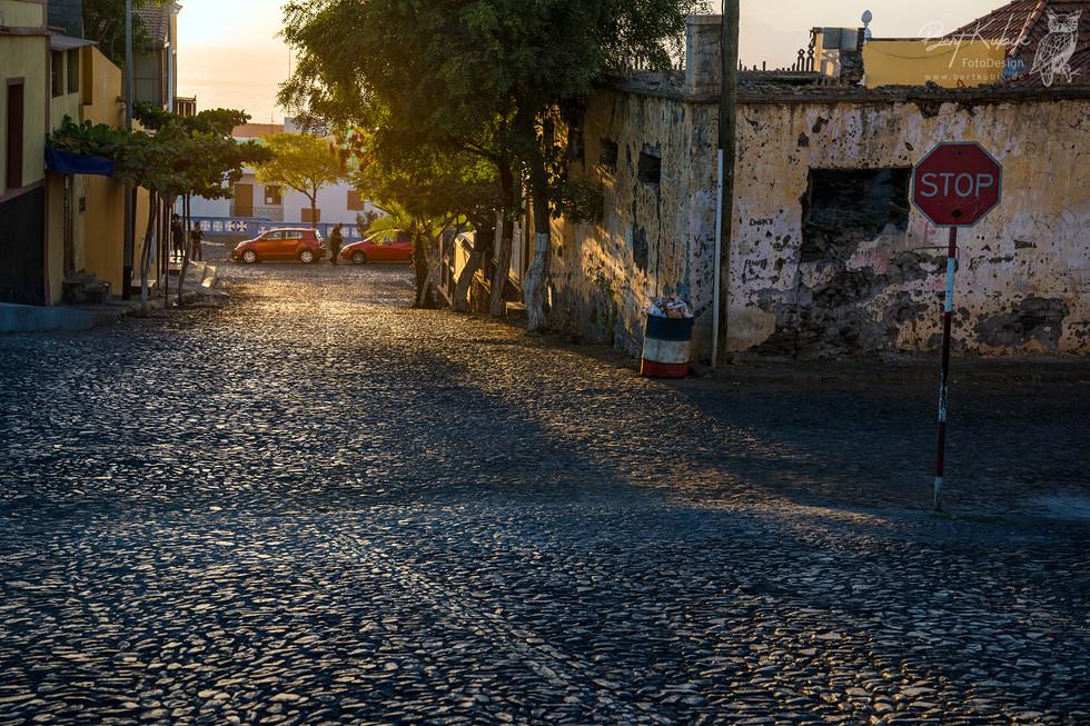 Abends in Sao Filipe