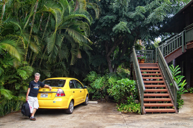 Unterkunft auf Maui