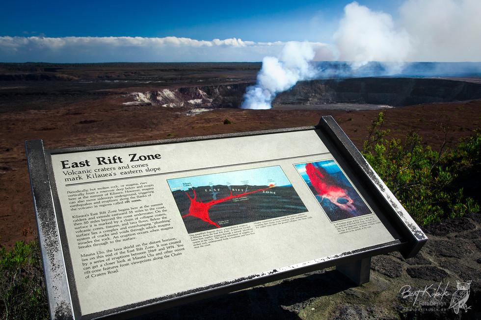 Volcano National Park, Kilauea auf Big Island