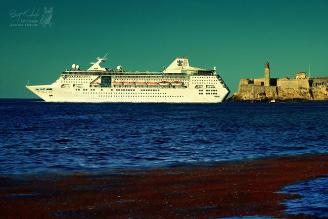 Hafen-Einfahrt von Havanna