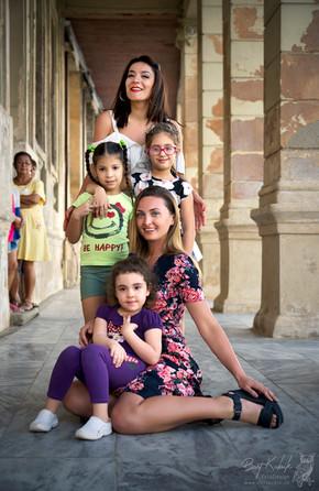Olga & Anna & Viele spontane kleine Fans