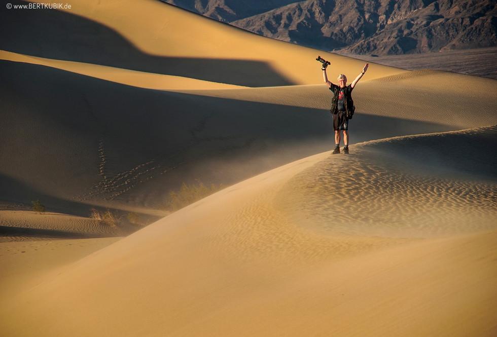 Mesquite Flat Sand Dunes in Death Valley