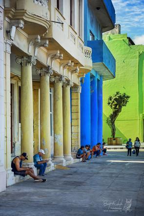 """Am Malecon unmittelbar neben dem Hotel """"Deauville"""""""