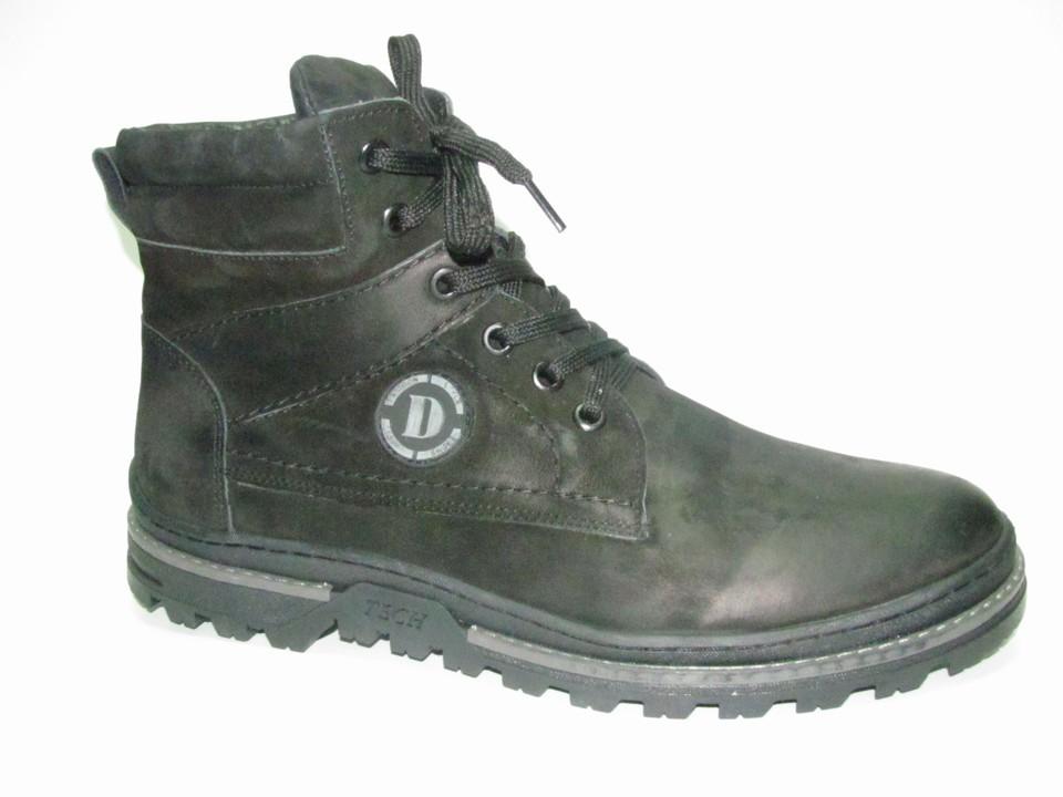 Ботинки р.39-44, натуральный нубук, мех. Цена-6670 р, спец.цена-5720р.