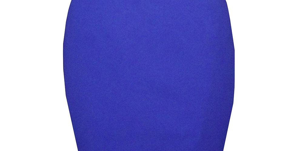 Rhapso Designs Royal Blue Mini Skirt  front view