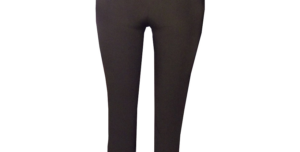 Fitted Officewear Pants featuring side pockets WP back view