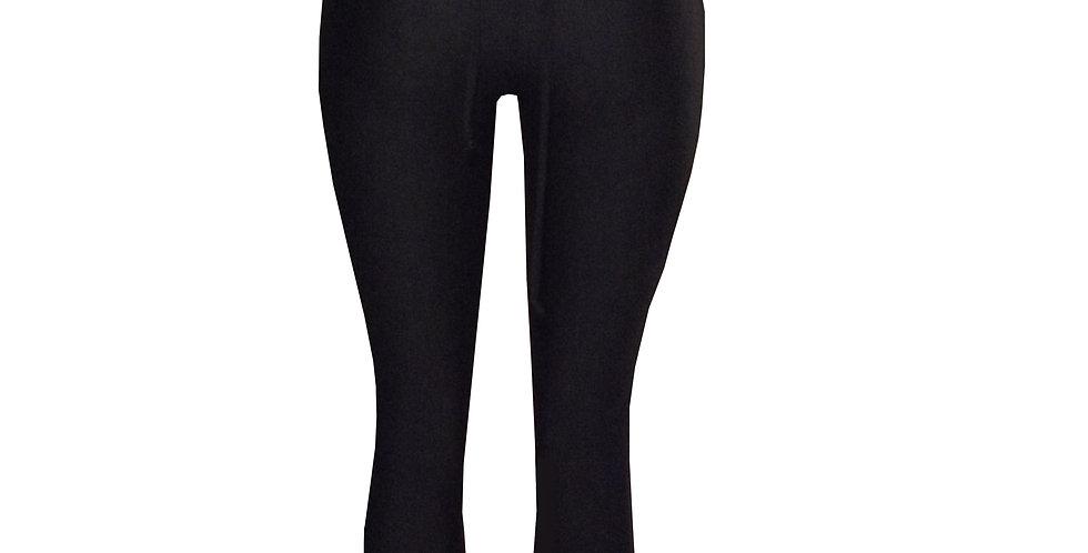 Rhapso Designs Lace up back full length leggings- Australian Made. Back view
