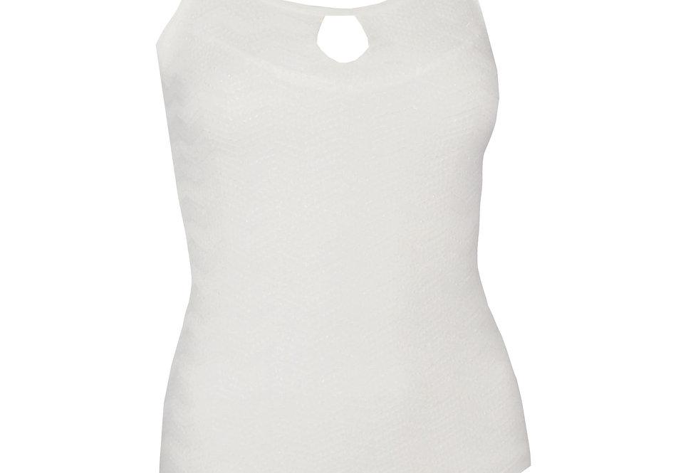 Rhapso Designs Fashion Keyhole Zig Zag Lace Bodysuit 1 front view