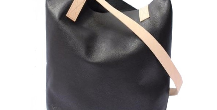 Rhapso Designs The Asha Leather Bag by Poltrona Front view