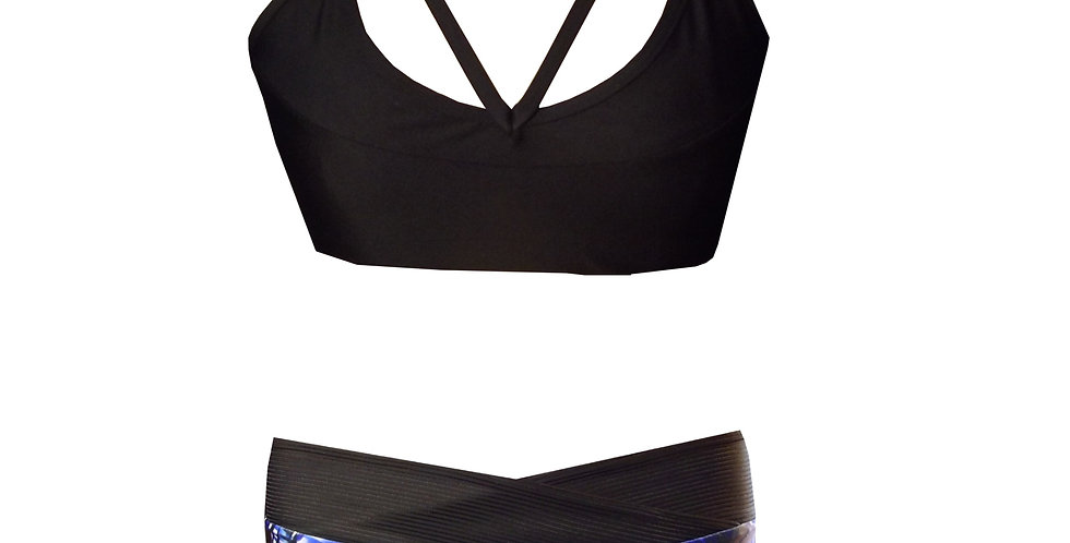 Rhapso Designs Mixed Bikini Set Front view