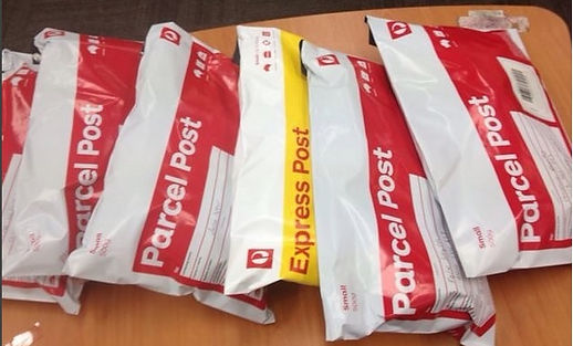 Shipping our orders via Auspost