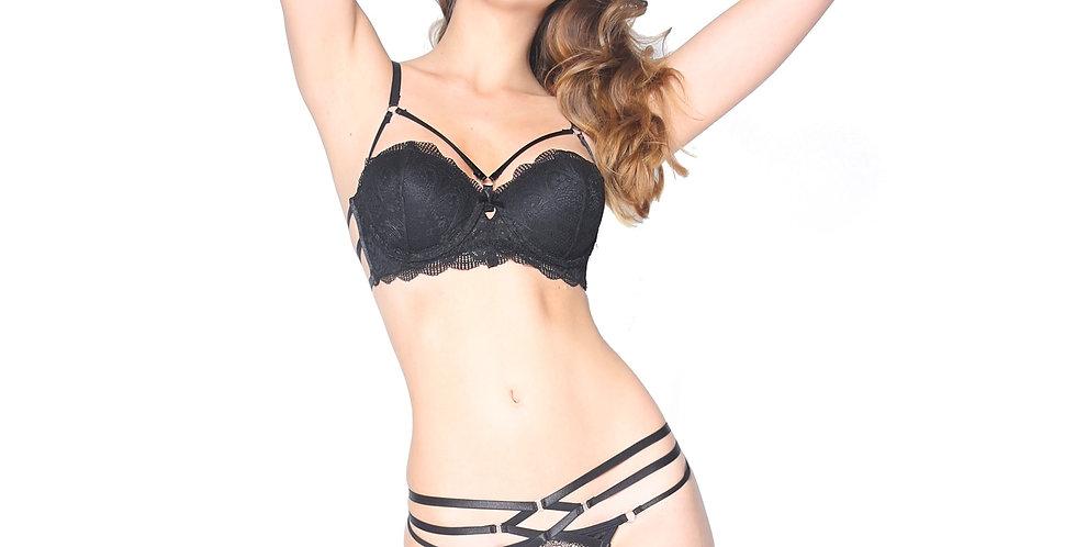 Rhapso designs Underpants Criss Cross Lace Thong UW58
