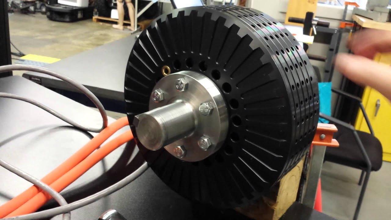 Lanéva electric motor