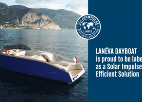 Lanéva Dayboat labeled as a Solar Impulse Efficient Solutions
