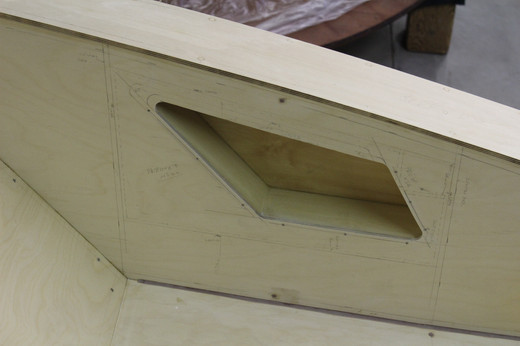 Side storage compartment