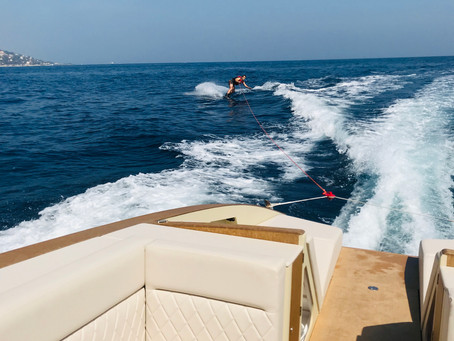 Who said wakeboard is not possible with an electric boat ?