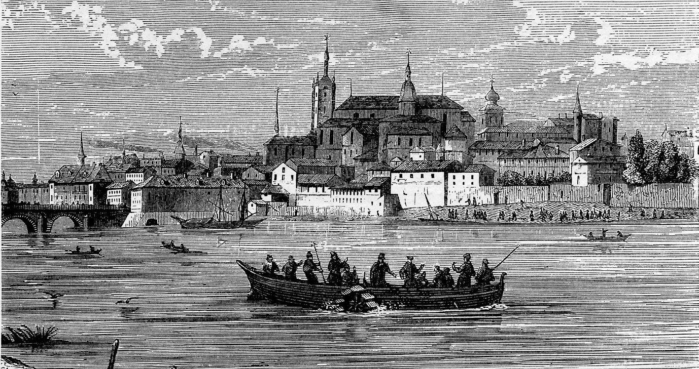1838 on the Neva River