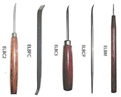 Burnisher Etching Tool