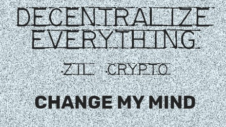 Decentralize Everything