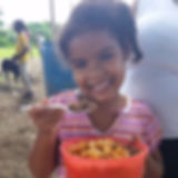 youth girl enjoying one of our meals