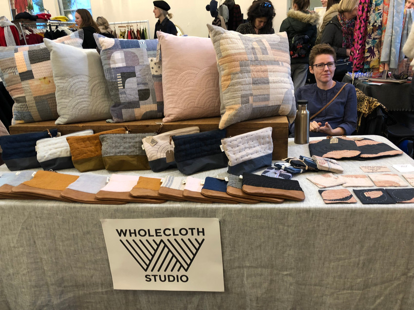 Wholecloth studio quilted goods