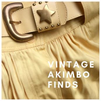 Vintage Akimbo Finds
