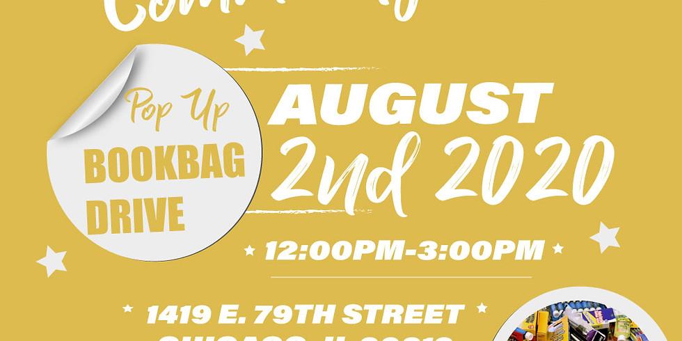 Annual Community Day: Pop-Up Bookbag Drive