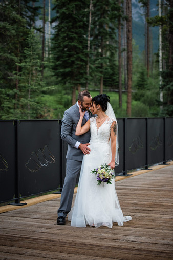 Mountain Wedding, Canmore & Banff Wedding Photographer