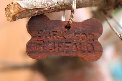 Bark For Buffalo Dog Tag