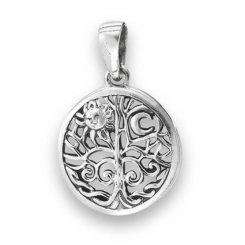 Silver Celtic tree of life Pendant Design #3