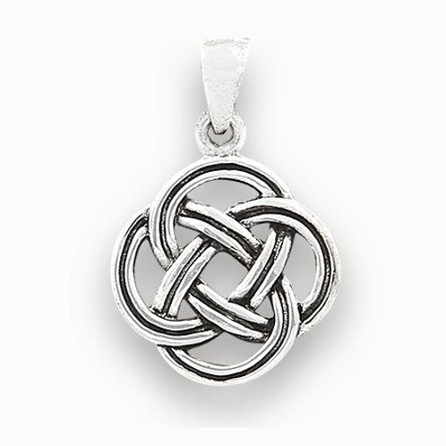 Celtic endless knot pendant